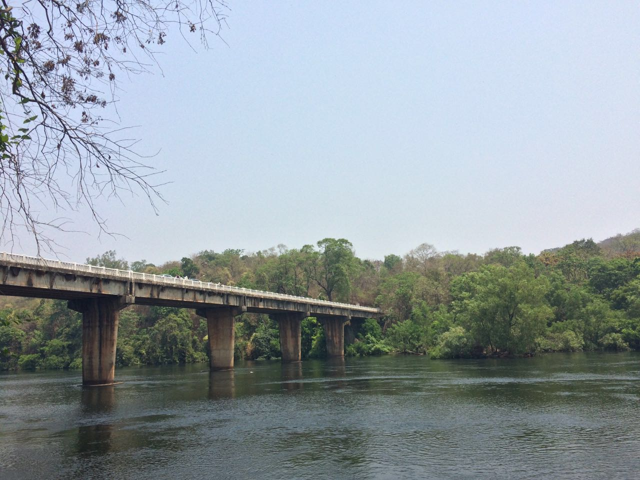 Kali River bridge in Ganeshgudi, Dandeli